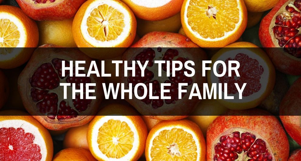 Reducing Obesity Risks With Healthy Tips For The Whole Family