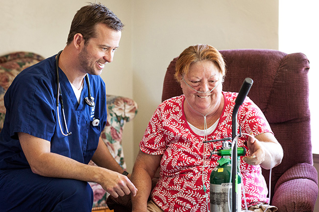 Home visits reduces ER visits for those with chronic lung problems