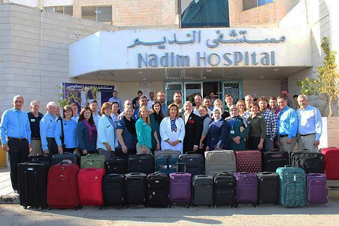 Community and local ag leaders team up for medical mission to Jordan