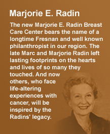 The legacy of Marjorie E. Radin