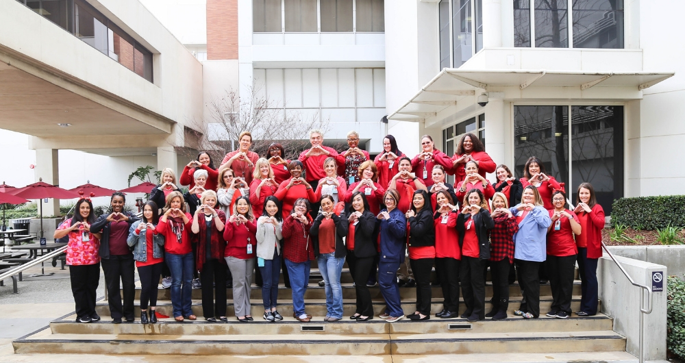 Community Goes Red For Heart Month